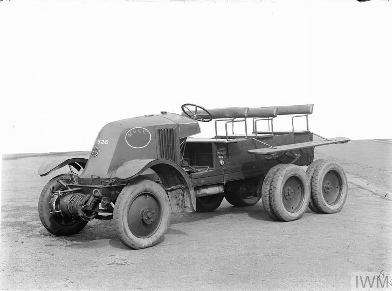 BRITISH MILITARY VEHICLES 1918-1939
