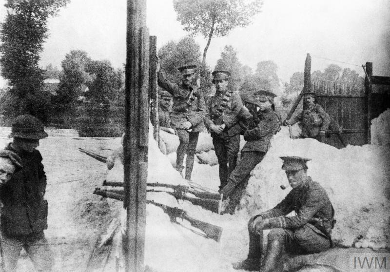 THE BATTLE AND RETREAT FROM MONS AUGUST - SEPTEMBER 1914