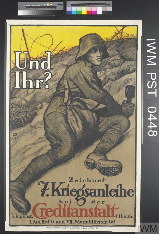 Und Ihr? Zeichnet Siebente Kriegsanleihe [What About You? Subscribe to the 7th War Loan]