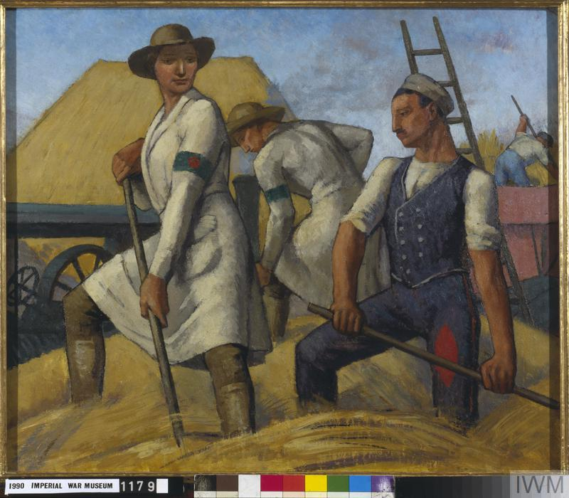 The Women's Land Army and German Prisoners