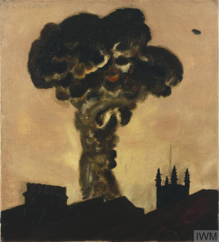 A High Explosive Bomb in High Street, Kensington, 18th February 1944