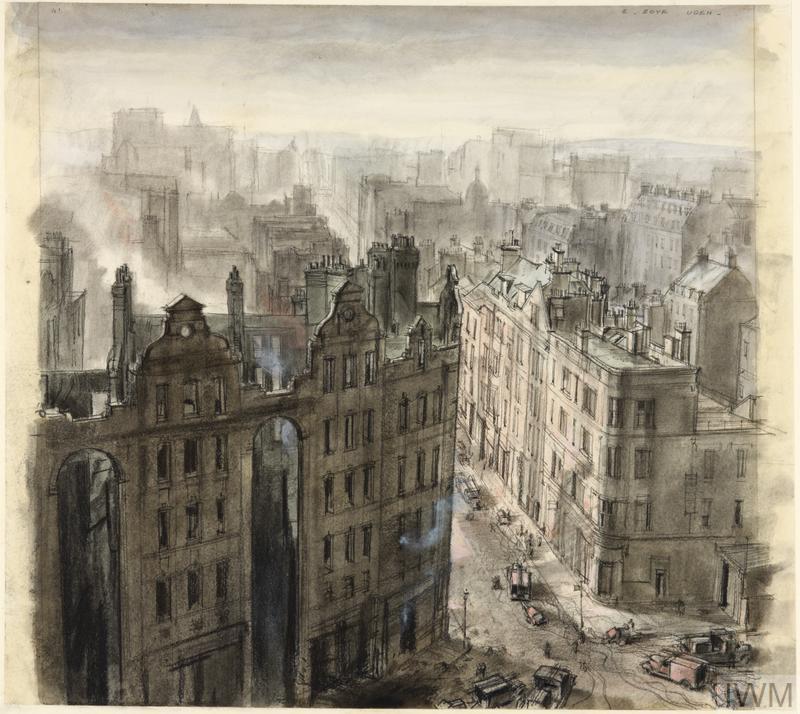 Southampton Row, London, April 1941