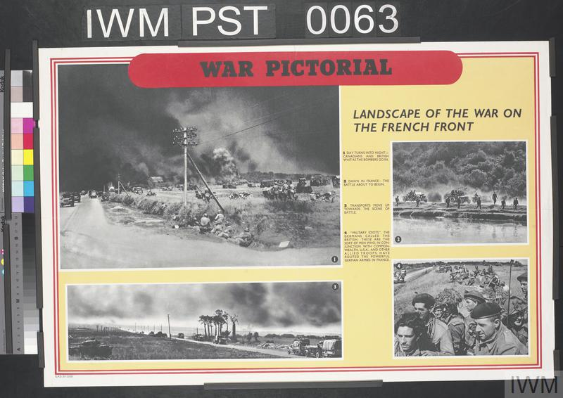 War Pictorial - Landscape of the War On the French Front
