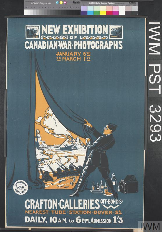 New Exhibition of Canadian War Photographs
