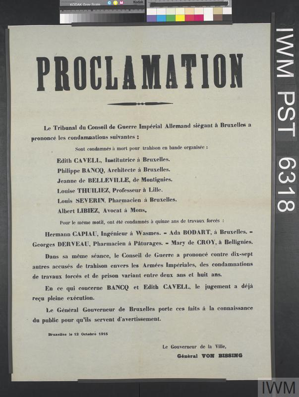 Proclamation [Proclamation]