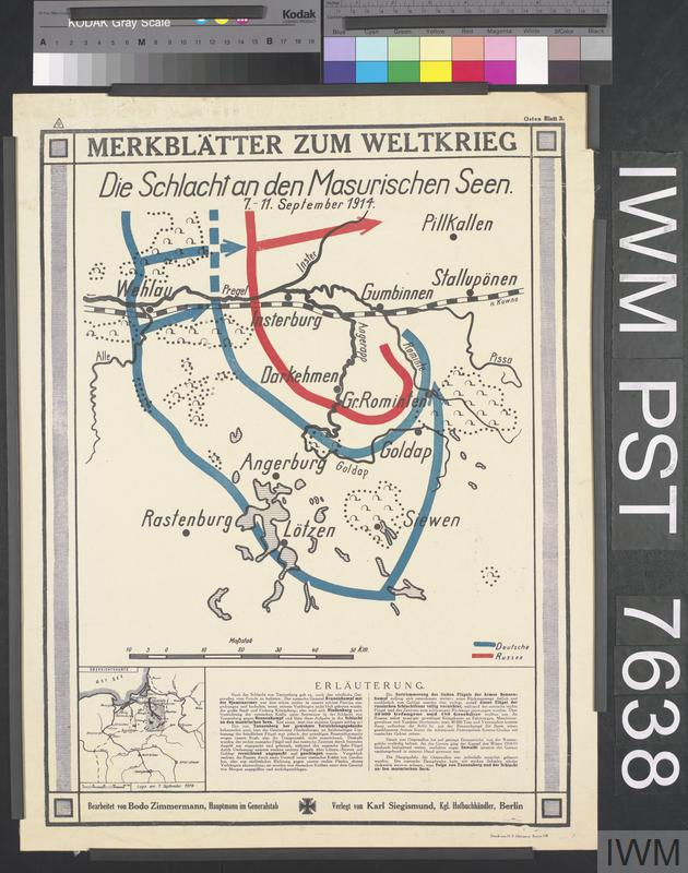 the battle of tannenberg and masurian