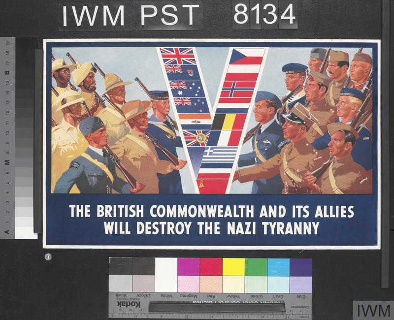 The British Commonwealth and Its Allies Will Destroy the Nazi Tyranny