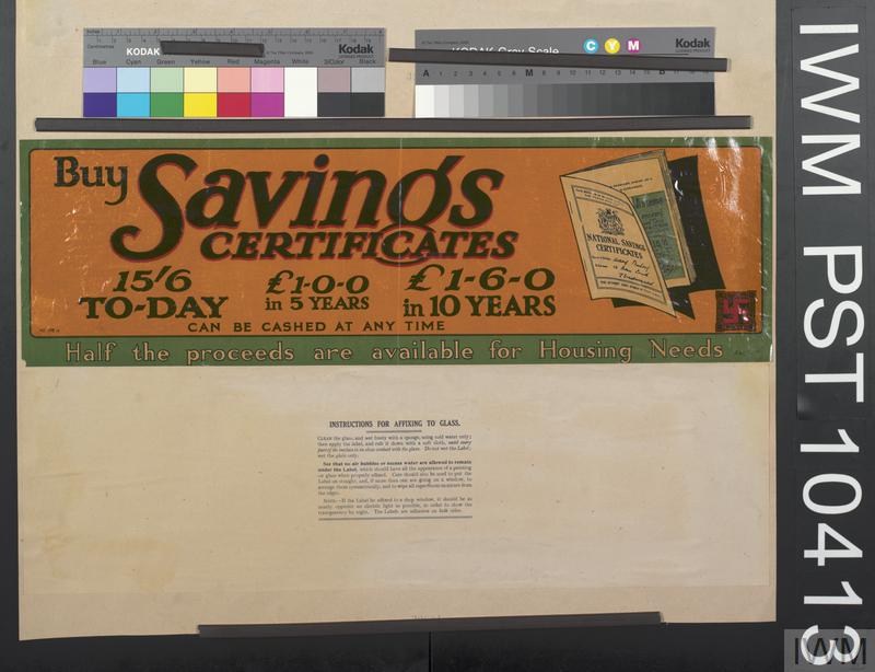 Buy Savings Certificates