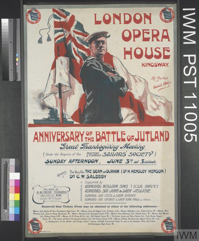 Anniversary of the Battle of Jutland - London Opera House