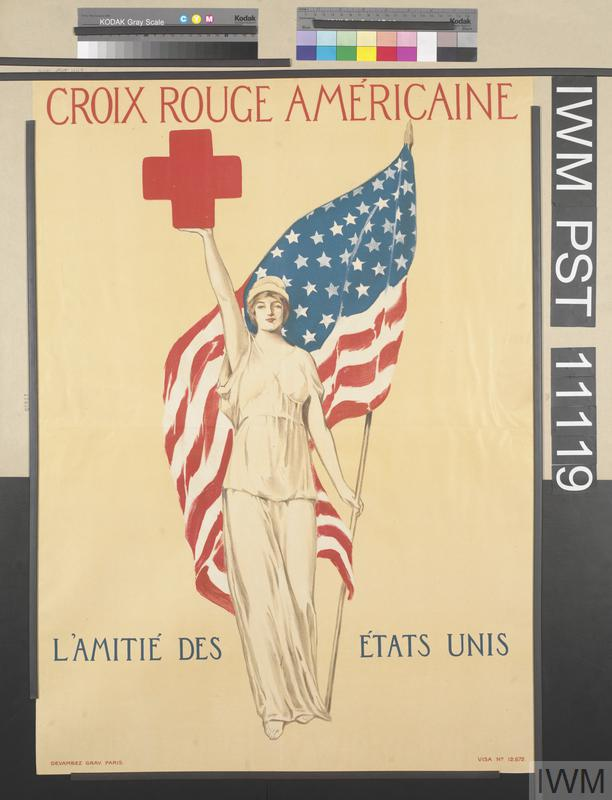 Croix Rouge Américaine - L'Amitié des États Unis [American Red Cross - The Friendship of the United States]