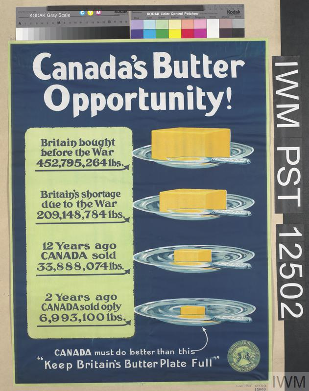 Canada's Butter Opportunity!   Imperial War Museums