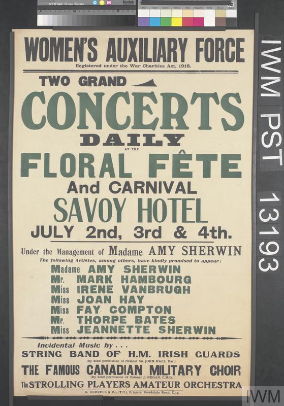 Concerts Daily at the Floral Fête