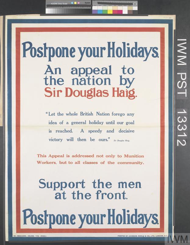 Postpone Your Holidays