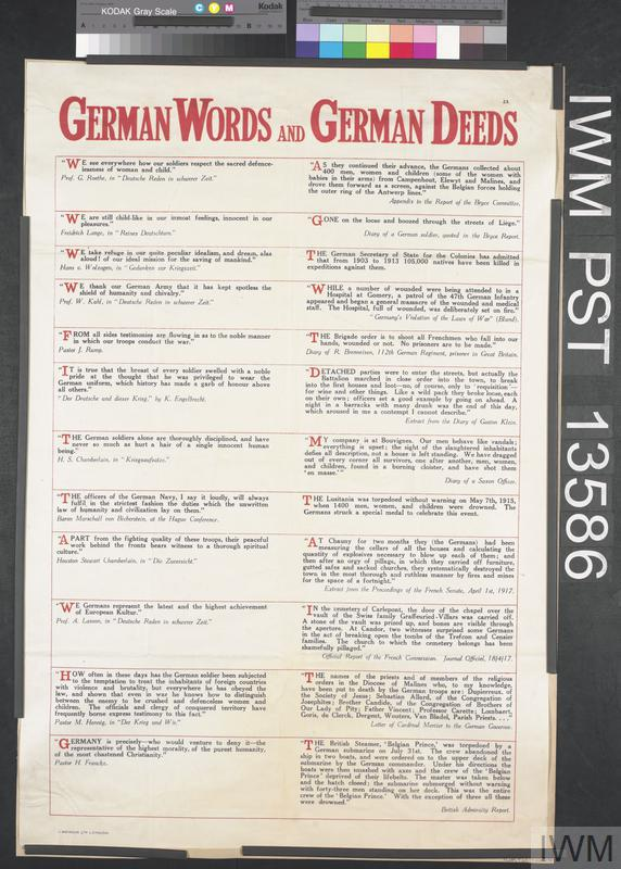 German Words and German Deeds