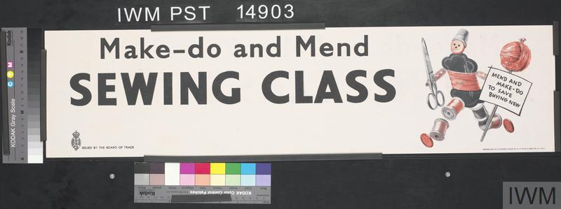 Make-Do and Mend - Sewing Class