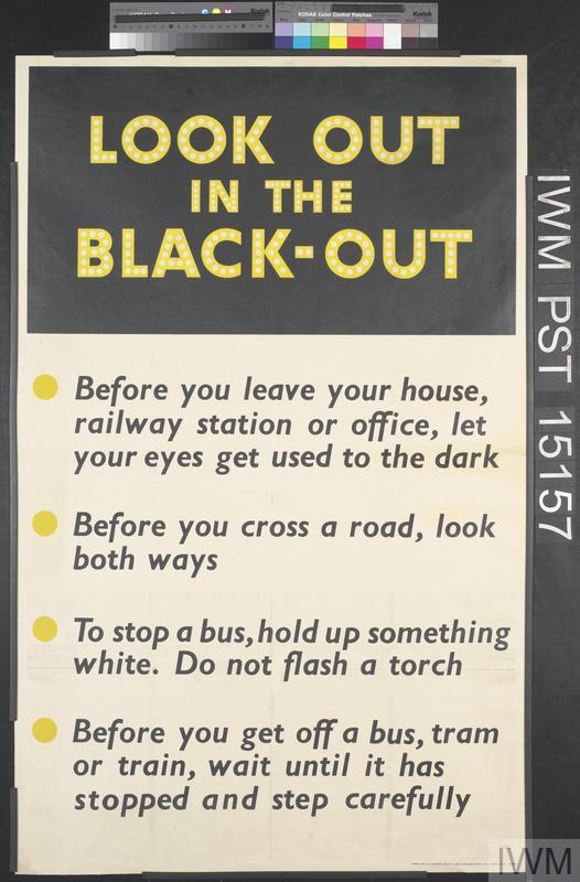 Lift that Blackout | Imperial War Museums