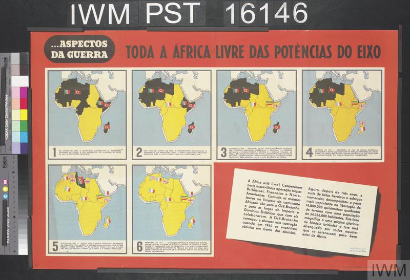 Toda a África Livre das Potências do Eixo [All Africa Liberated from the Axis Powers]