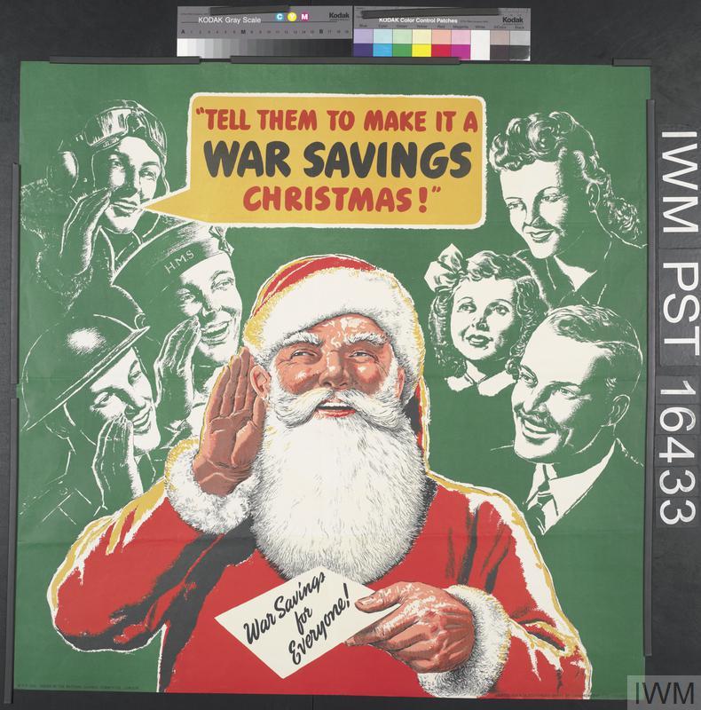 Tell Them To Make It A War Savings Christmas.