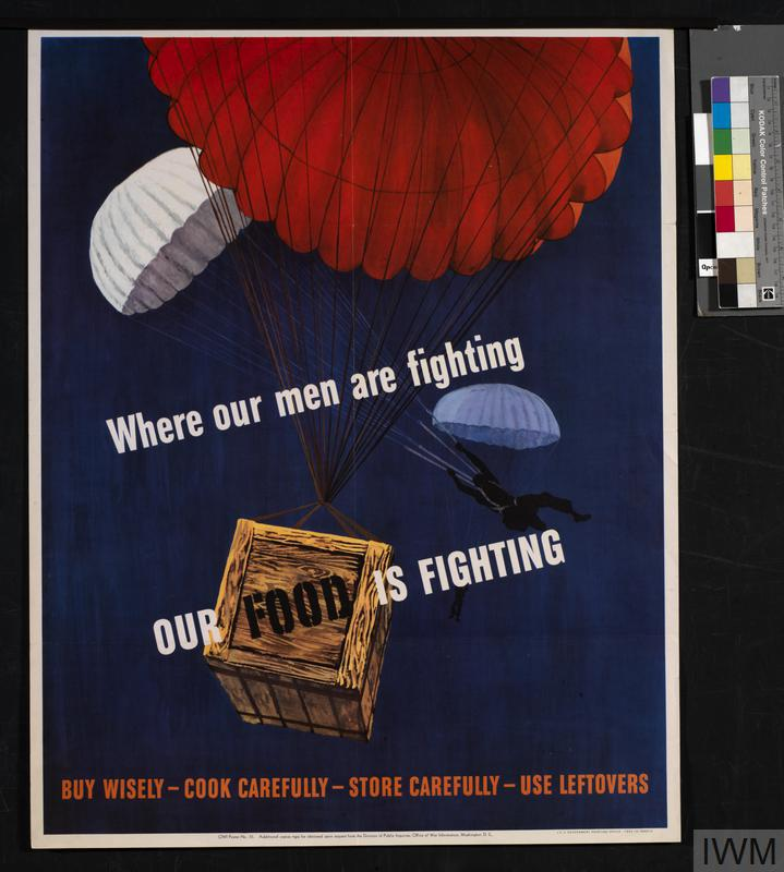 Where Our Men Are Fighting - Our Food is Fighting