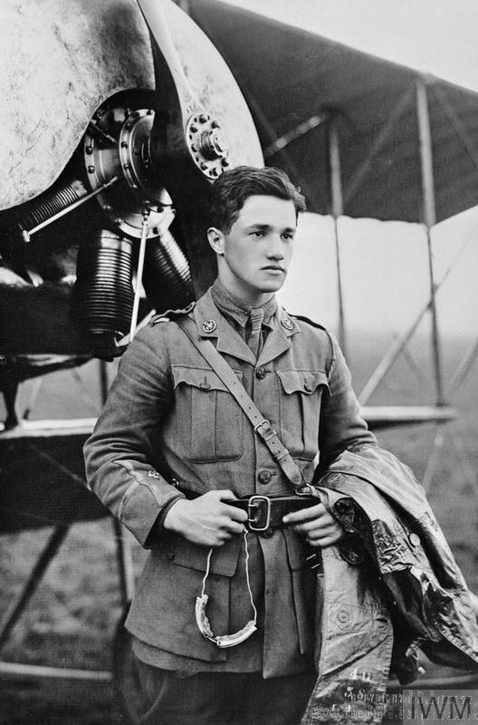 Captain Albert Ball VC, awarded the Victoria Cross: France, May 1916-June 1917.