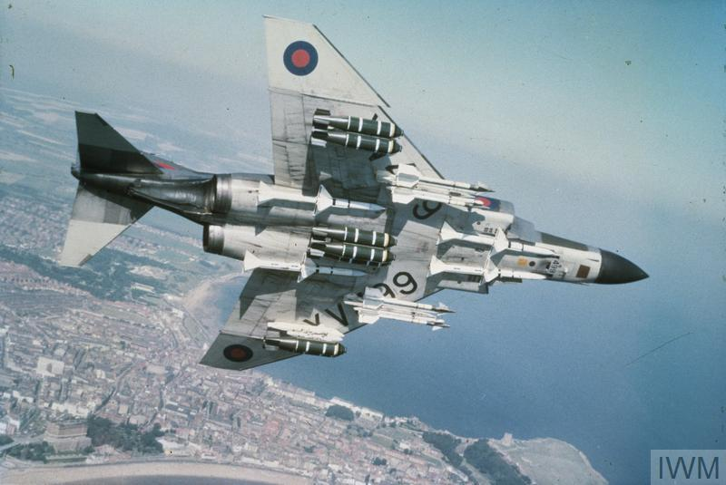 McDonnel Douglas Phantom in flight