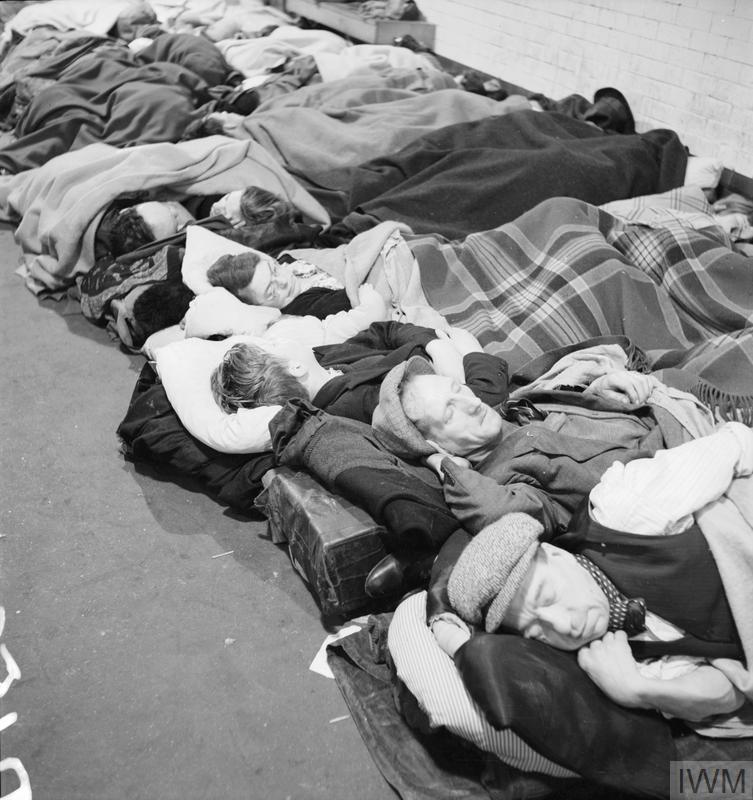 SHELTER PHOTOGRAPHS TAKEN IN LONDON BY BILL BRANDT, NOVEMBER 1940    Imperial War Museums