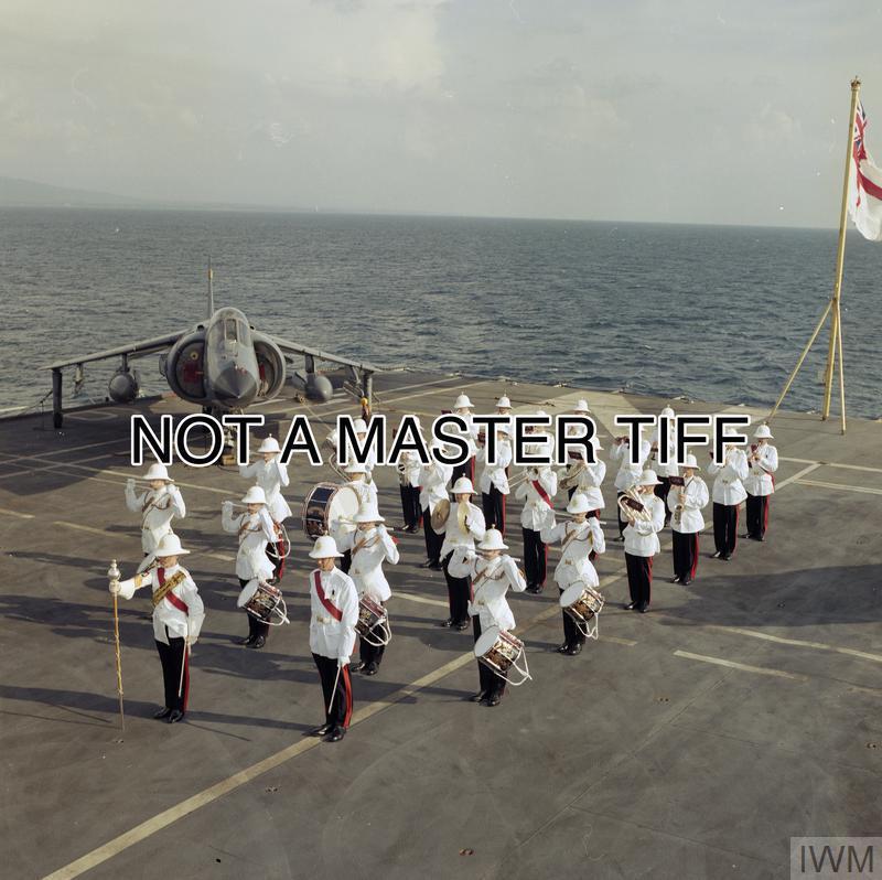 HMS INVINCIBLE 1980 - 2000