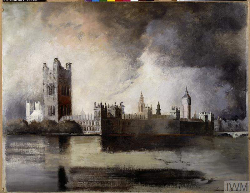 The Houses of Parliament on Fire, May 1941