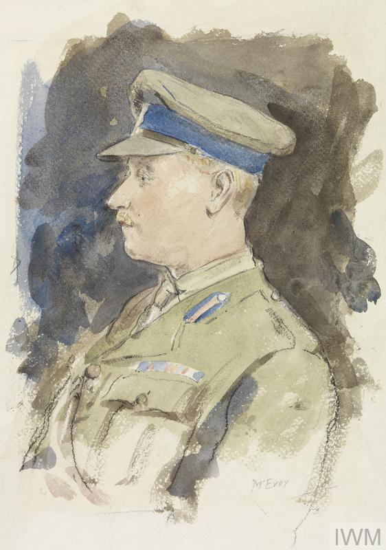 Colonel R W Clements, CMG, DSO, ADMS : 1918