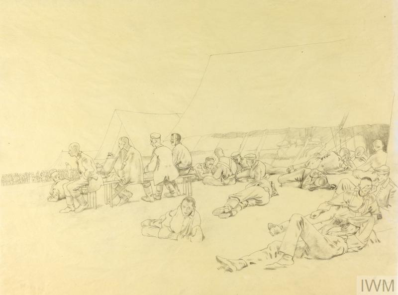 German Sick, Captured at Messines