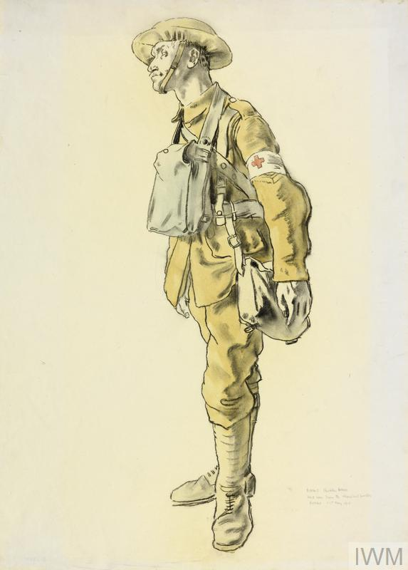 An RAMC Stretcher-bearer: 'Just come from the Chemical Works, Roeux, 21st May 1917'