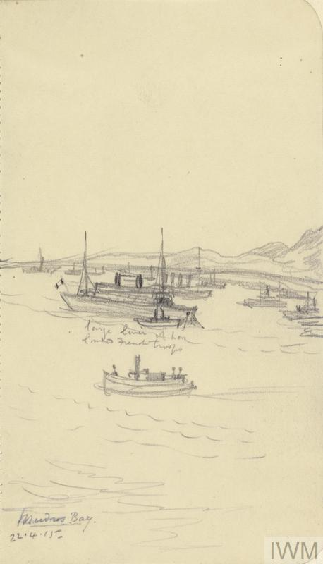 A French Troopship, April 22nd 1915