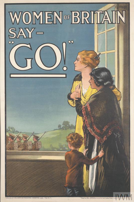 Women of Britain Say 'Go!'