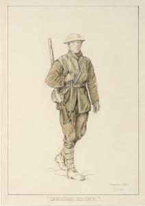 First World War Sketchbook Volume 1 Unknown Soldier Somme 1916