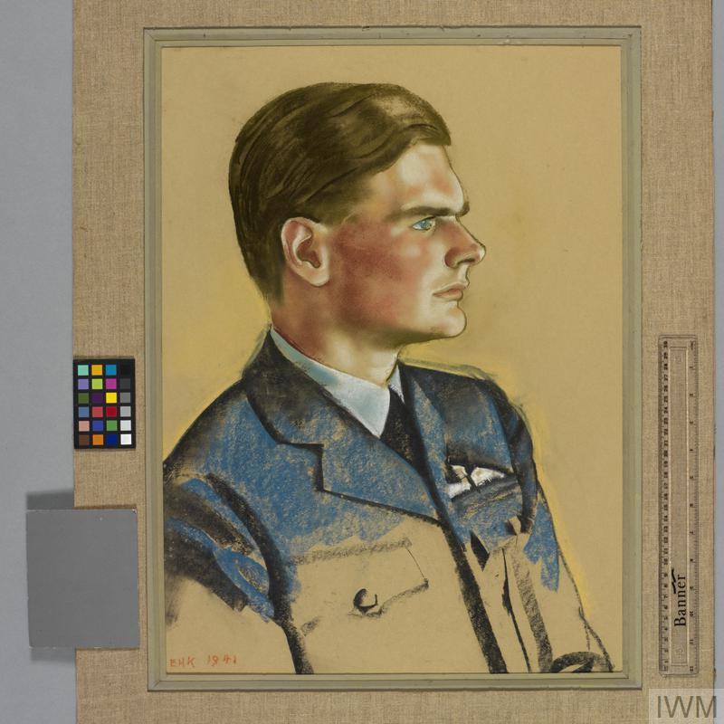 Squadron Leader P A Womersley DFC   Imperial War Museums