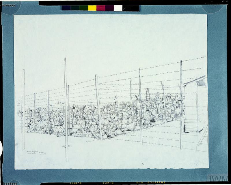 German Prisoners Captured at Messines
