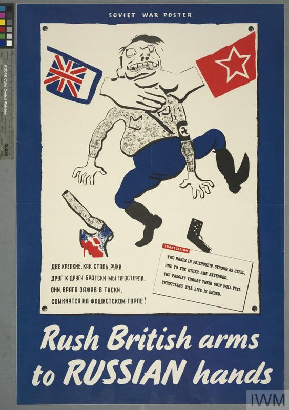 RUSH BRITISH ARMS TO RUSSIAN HANDS