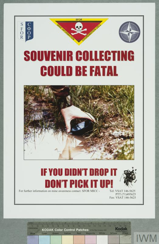 Souvenir collecting could be fatal