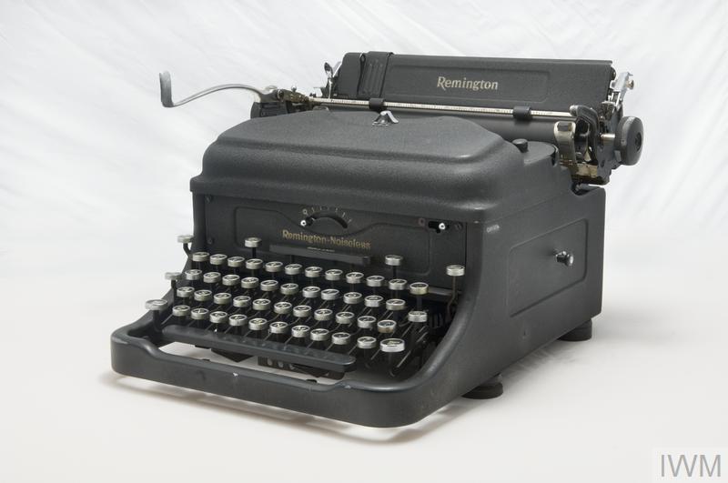 Remington 'Noiseless' Typewriter.