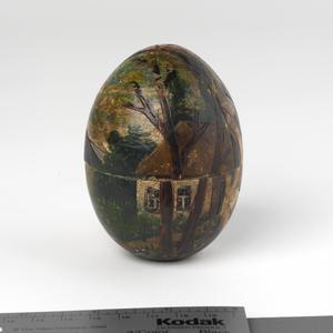 easter egg, handmade