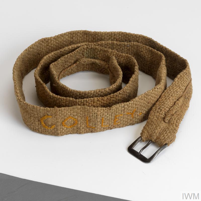 luggage strap, handmade, British, Far East Civilian Internee