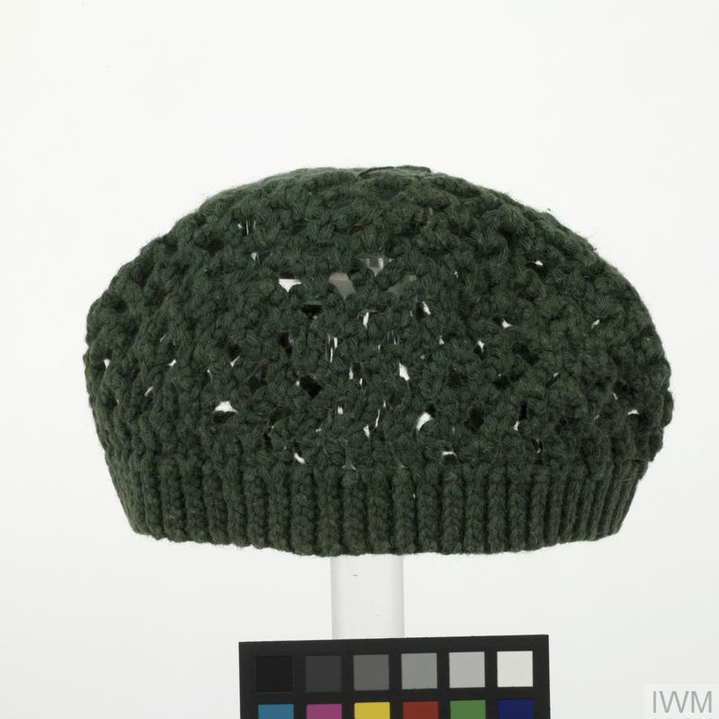 skull cap, knitted