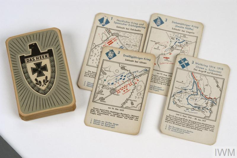card game, German, Das Heer (set of playing cards)