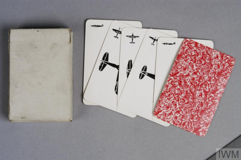 Aircraft Identification Cards British Aircraft Recognition Silhouette Cards Red Pack Imperial War Museums