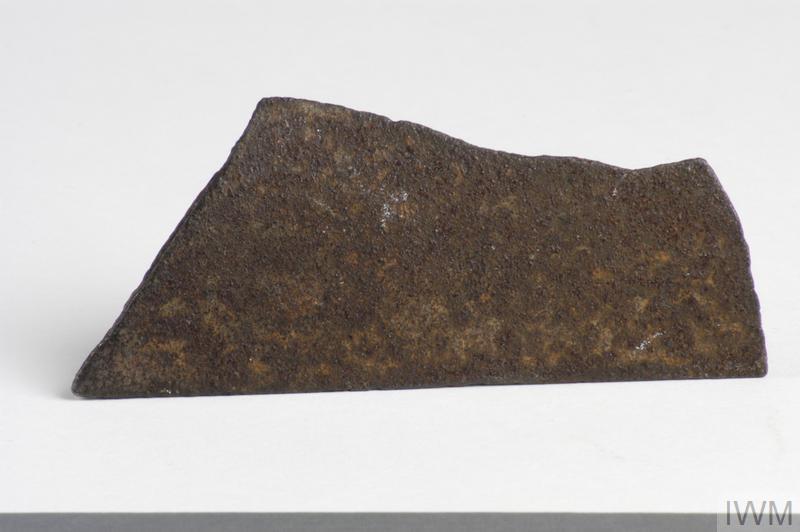 splinter fragment from a German V1 'flying bomb