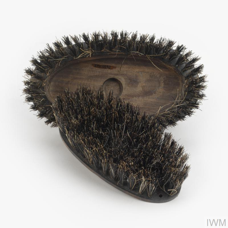 shoe/clothes brush, concealed information, British