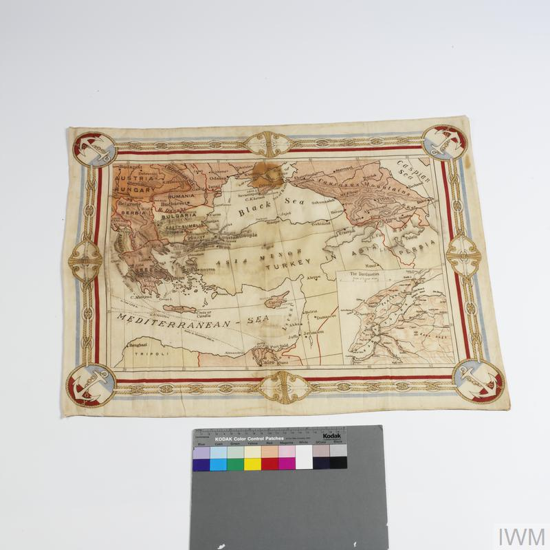 map, souvenir, Dardanelles   Imperial War Museums on