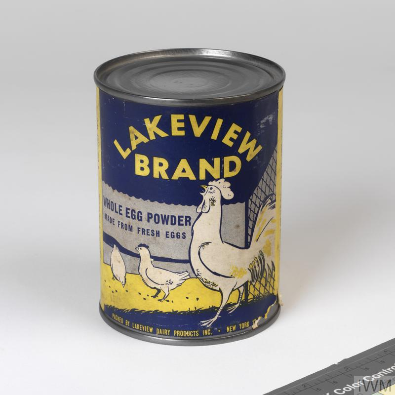 Powdered Eggs Tin Lakeview Imperial War Museums