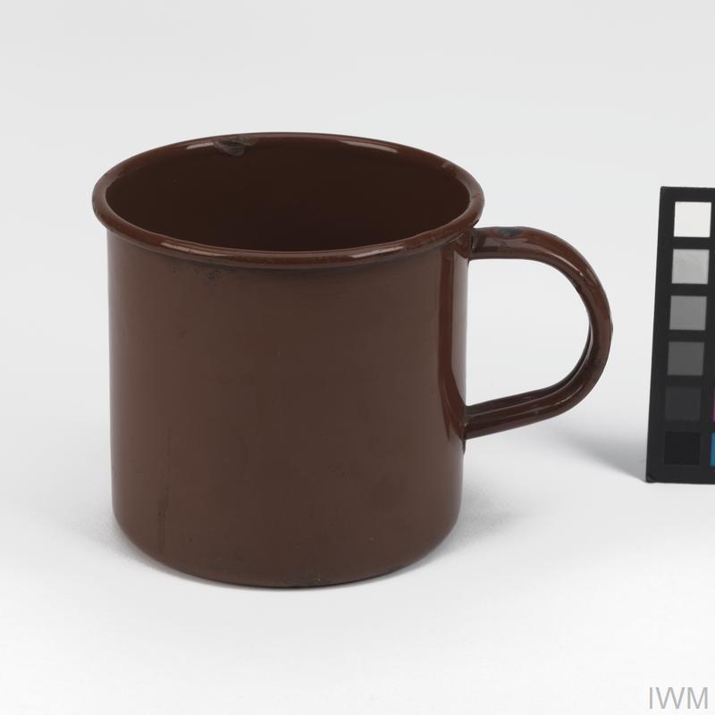 Mug, Enamel: British Army | Imperial War Museums