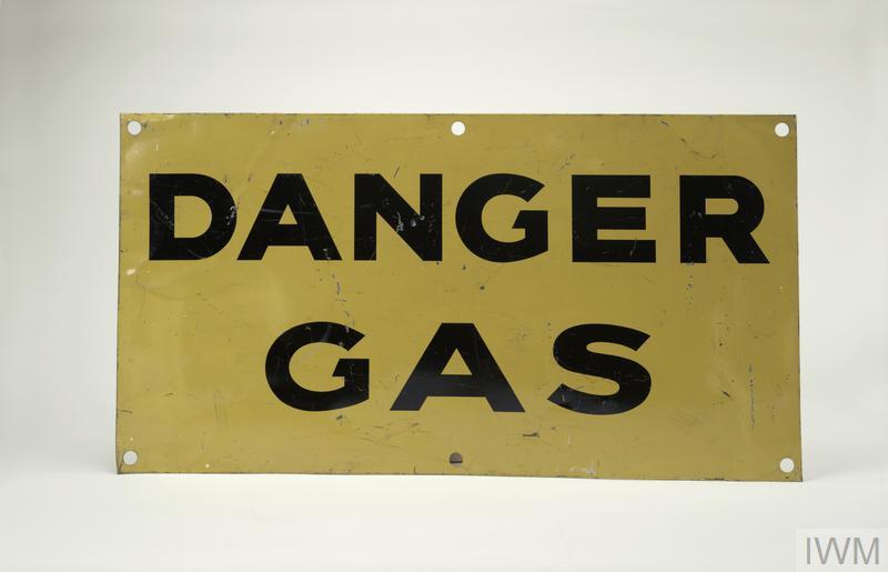 warning sign, Danger Gas